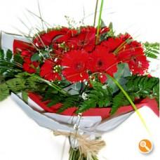 Bouquet de Gerberas Red Fire